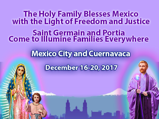 Winter Event: The Holy Family Blesses Mexico