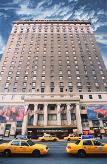 Hotel Pennsylvania, New York City, NY