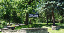 Front Entrance to Villa Maria