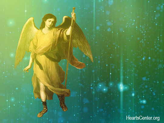 Archangel Raphael Spreads His Wings to Enfold the Earth in Healing Love (VIDEO)