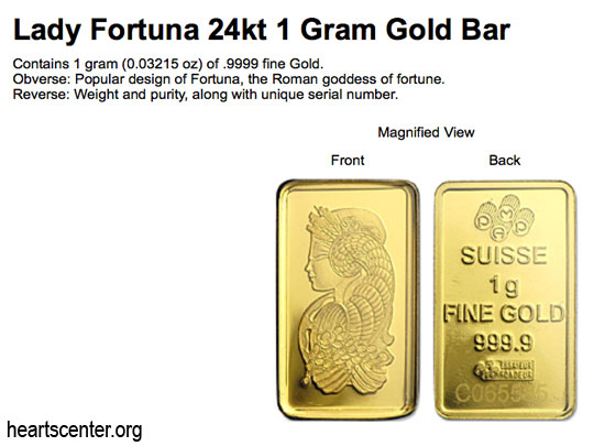 Fortuna  Blesses the Fortuna Gold Bars (VIDEO)