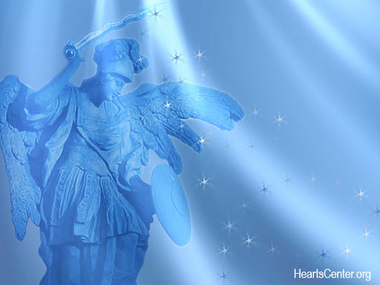 The Angel of Deliverance Gifts Us with a New Spiritual Golden-Blue Chain Mail Garment