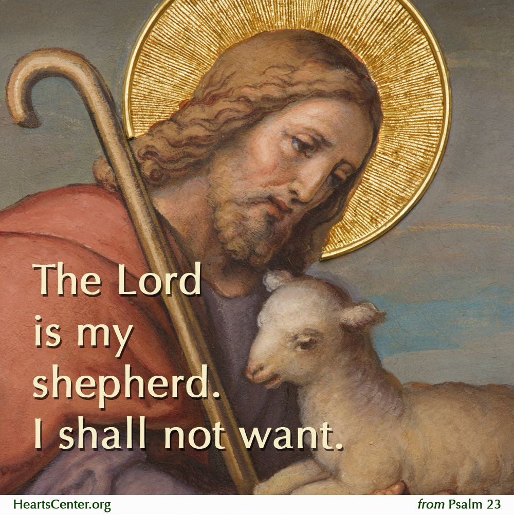 lord is my sheperd: