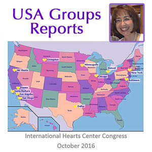 Hearts Centers and Heartfriends Groups of the U.S.A. (VIDEO)