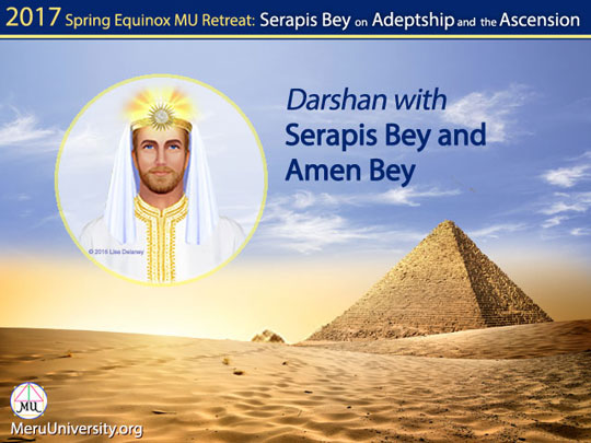 Darshan with Serapis Bey and Amen Bey (VIDEO)