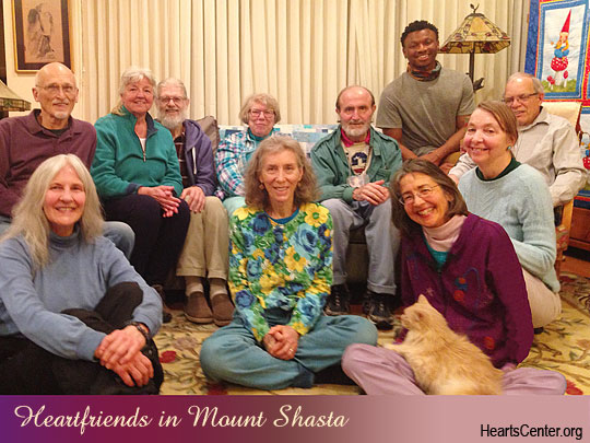 Comments and Darshan with Heartfriends in Mount Shasta