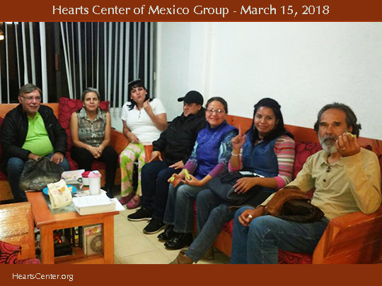The Spirit of Mexico Darshans with Mexico Heartfriends and Offers Tips on How to Utilize Our Hearts