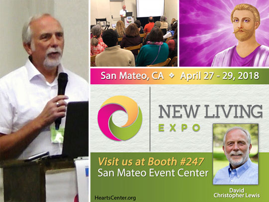 Saint Germain's Alchemical Activation of Lightworkers at 2018 San Mateo Expo (VIDEO)