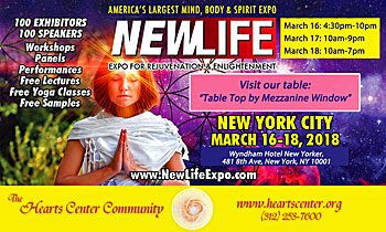 The Hearts Center is at the NewLife Expo in New York