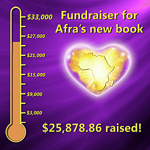 afra fundraiser thermometer