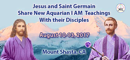 Jesus and Saint Germain at Shasta Summer 2017