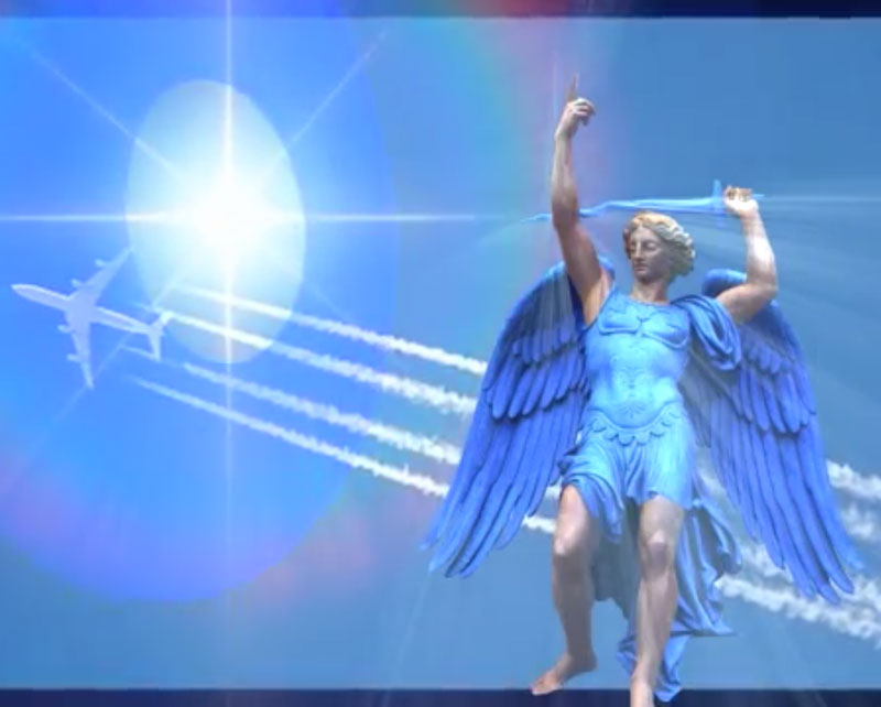 Archangel Michael Clearing Chemtrails