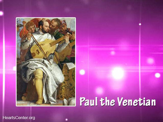 Paul the Venetian Chohan of the Third Ray Ascended Master