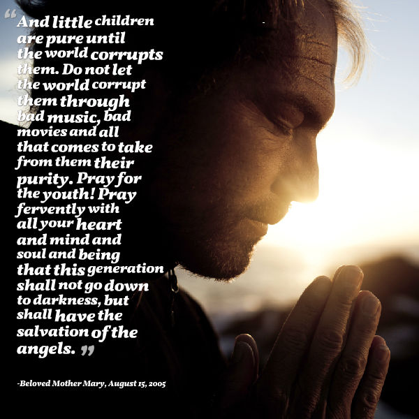Beloved Mother Mary - Little Children