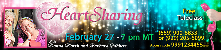 Join us for the February Heartshare Teleclass