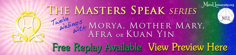 Featured Replay MU1402 The Masters Speak