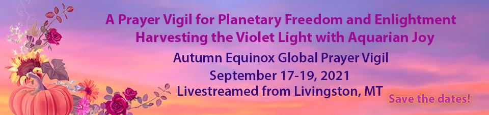 Banner 2021 Autumn Equinox Global Prayer Vigil