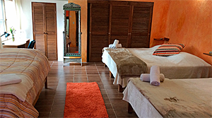 Sample rooms at Bosque de Agua