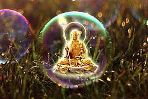 The Buddha of Crystal Joy Brings Levity to Our World