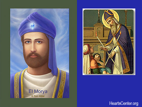 El Morya Clears and Saint Blaise Blesses Our Throat Chakras in an Alchemy of Blue/White Light (video)