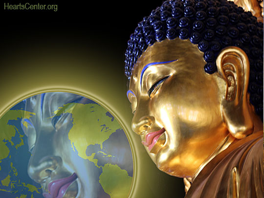 Lord Maitreya Perfumes the Earth with Buddhic Peace