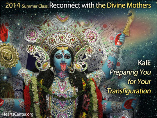 Kali: Preparing You for Your Transfiguration (planetary clearance)