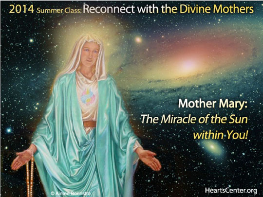 Mother Mary: The Miracle of the Sun within You!