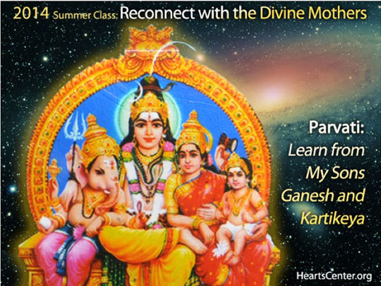 Parvati: Learn from My Sons Ganesh and Kartikeya
