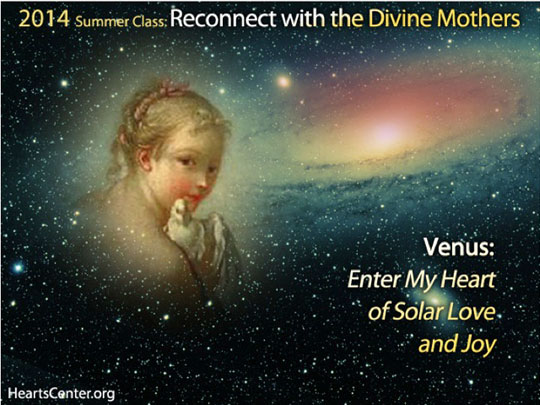 Venus: Enter My Heart of Solar Love and Joy