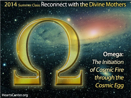 Omega: The Initiation of Cosmic Fire through the Cosmic Egg