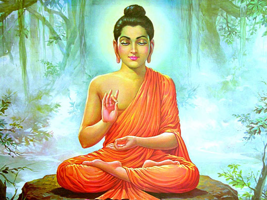 Gautama Buddha's New Year Address with the Thoughtform