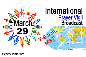 Important International Prayer Broadcast on Saturday, March 29th