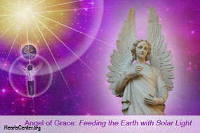 Angel of Grace: Feeding the Earth with Solar Light