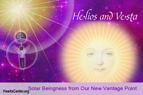 Helios and Vesta: Solar Beingness from Our New Vantage Point