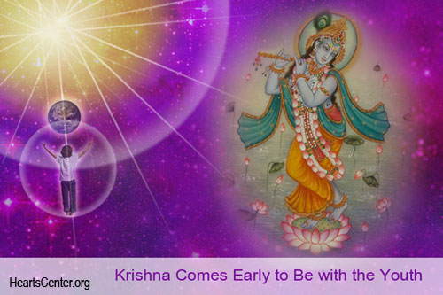 Krishna Comes Early to Be with the Youth
