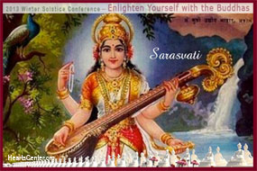 Sarasvati Stretches the Limits of Our Auric Field