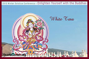 Through Her Song the White Tara Washes Us Clean in White Light