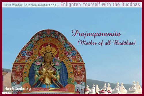 Prajnaparamita Touches Our Crown