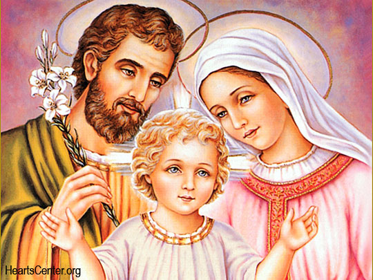 Personal Blessing by the Holy Family
