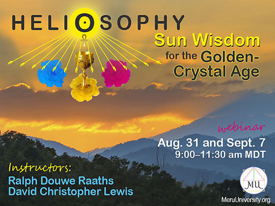 Invitation to MU Course Heliosophy and the Benefits of Sun Gazing