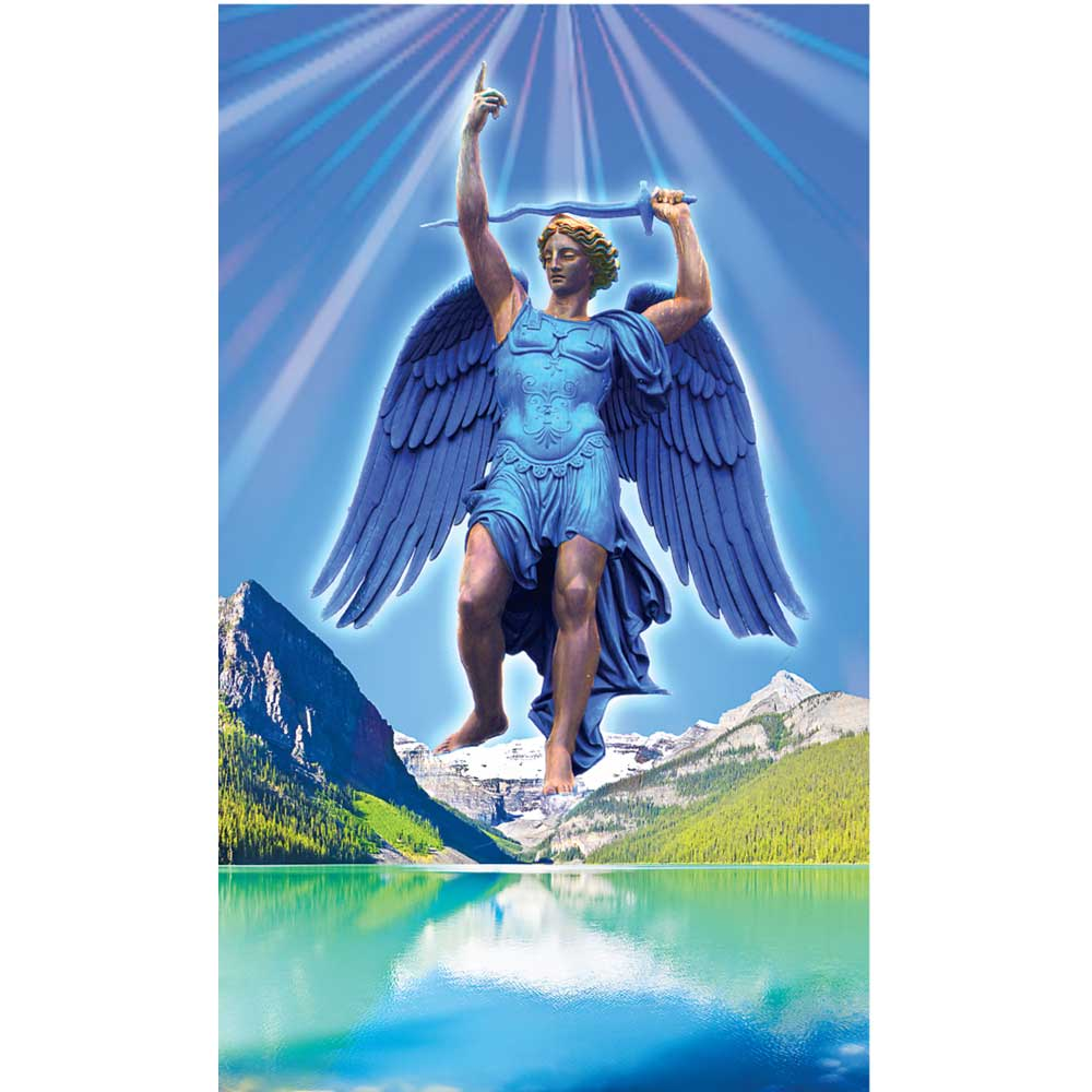 Archangel Michael Prayer Card
