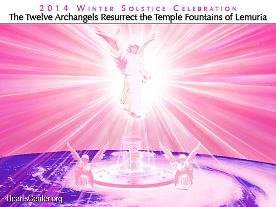 Archangel Chamuel and Archeia Charity Re-establish a Fountain of Light within Their Retreat over St. Louis