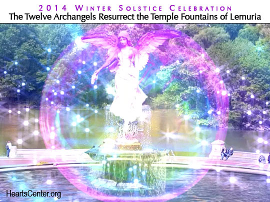 Toning and Healing Session by the Five Crystal Ray Archangels