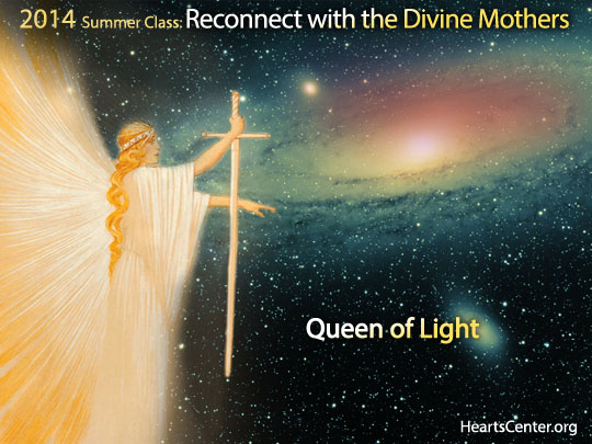 The Queen of Light, the Goddess of Purity and the Goddess of Light Infuse Us with the Wholeness and Holiness of Purity (video)
