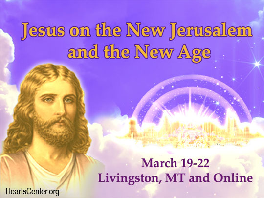Jesus' Sharing on the Importance of the Spring Equinox Meru Event on the New Jerusalem (VIDEO)