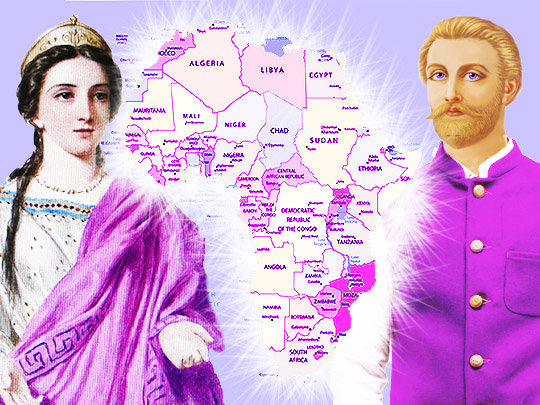 Saint Germain and Portia Share an Important Message for All African Peoples as the Divine Director Blazes Forth the Light of Freedom and Justice Across Africa