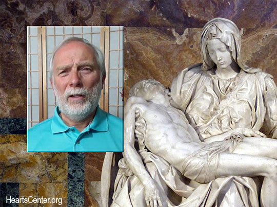 Mother Mary Speaks of the Pieta and Shares God's Grace with Us (VIDEO)