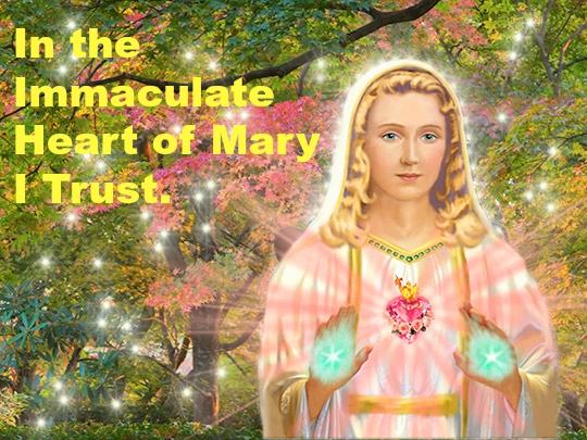 Prayer to the Immaculate Heart Of Mary Poster