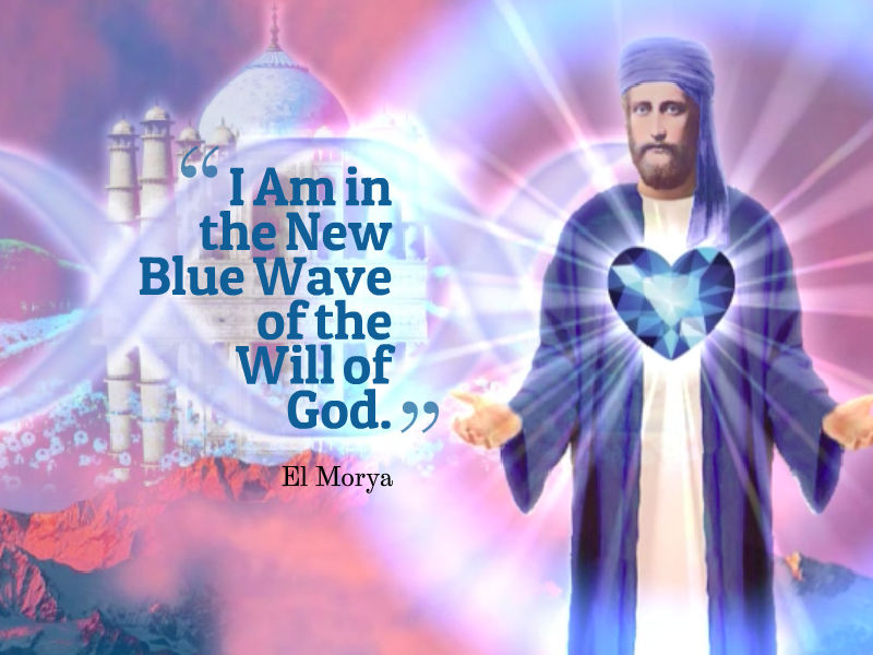 El Morya-The New Blue Wave