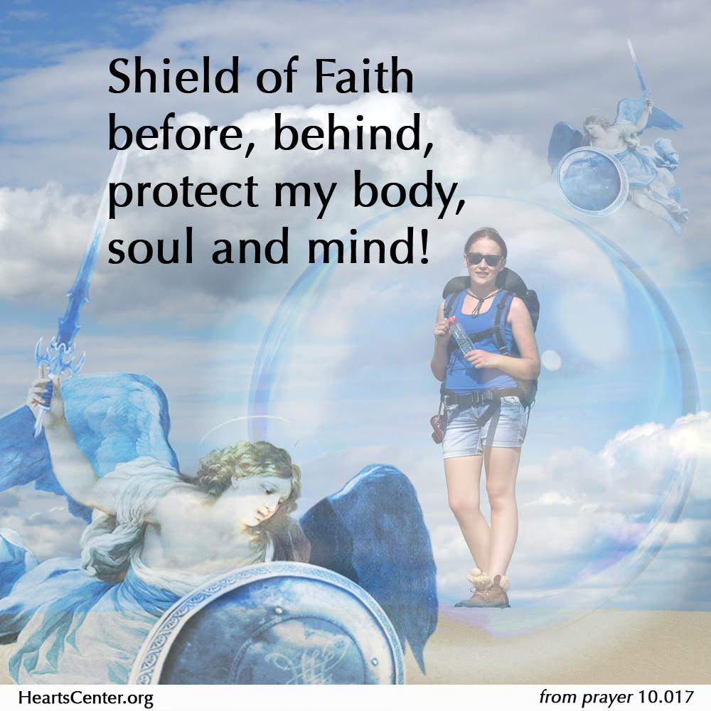 Archangel Michael and Faith-Shield of Faith